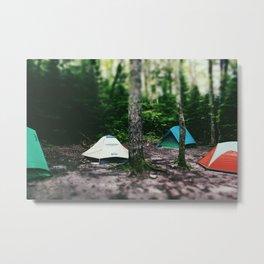 Mosquito Campsite Metal Print