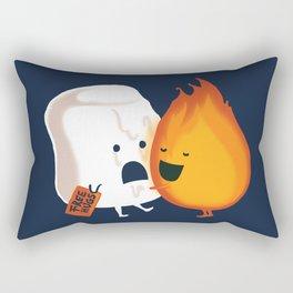 Friendly Fire Rectangular Pillow