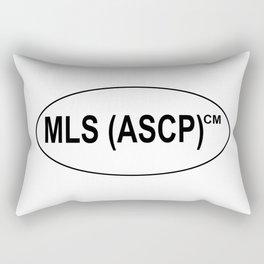 MLS (ASCP)CM Certification Rectangular Pillow