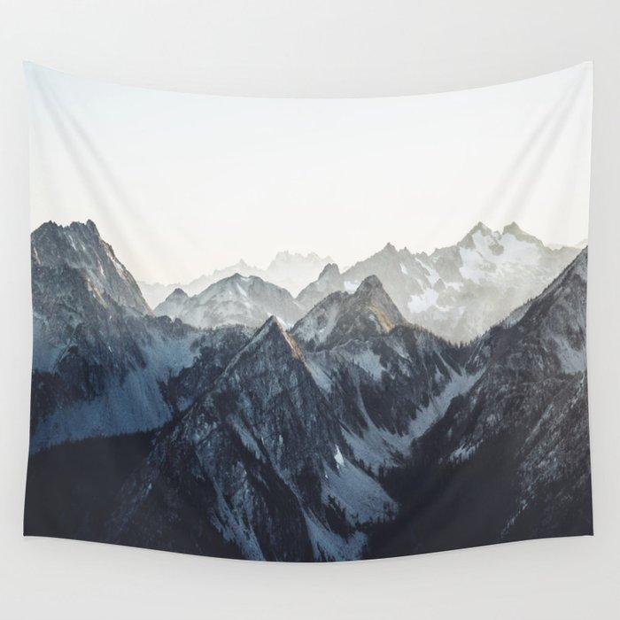 Mountain Mood Wandbehang