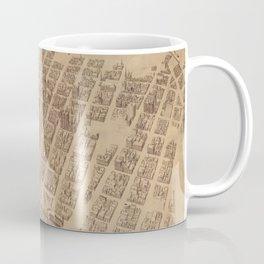 Vintage Map of Minneapolis MN (1891) 2 Coffee Mug