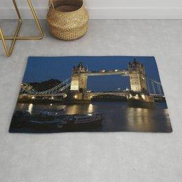 Tower bridge, London Town ,cityscape,skyline ,England ,Great Britain decor  Rug
