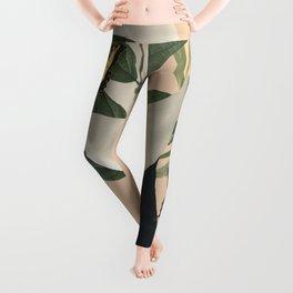 woman portrait /collage2 Leggings