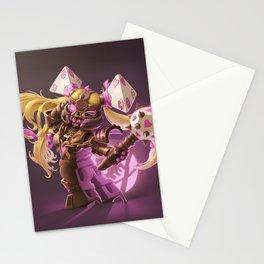The Nefarious Nega-BlokTrix Stationery Cards