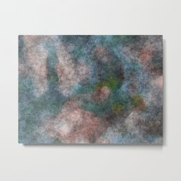 stained fantasy dark forest Metal Print