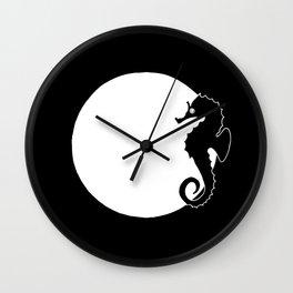 Little Seahorse Wall Clock