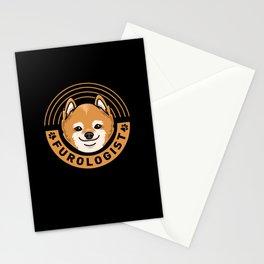 Furologist For Dog Groomer Stationery Cards