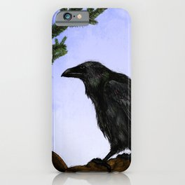 Hugin and Munin iPhone Case