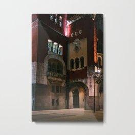 Town house Subotica Metal Print