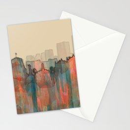 Wellington City Skyline, NZ - Navaho Stationery Cards