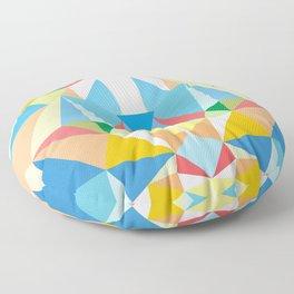 Diamond Kaleidoscopic Cat Floor Pillow