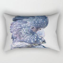 Black Cockatoo Rectangular Pillow