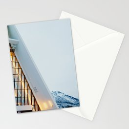 Winter at the Arctic Cathedral Stationery Cards