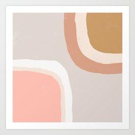 Minimal Abstract Kunstdrucke