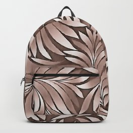 Stylish Leaves In Boysenberry Hues Backpack