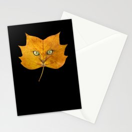 Autumn Cat-2 Stationery Cards