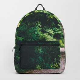 Walk way through the forest Backpack