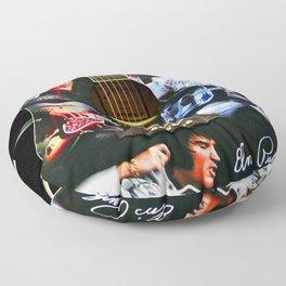 Elvis Presley Guitar Floor Pillow