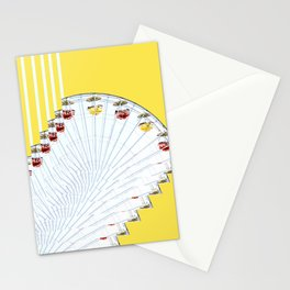 ferry me wheel Stationery Cards