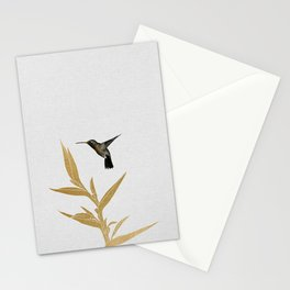 Hummingbird & Flower II Stationery Cards