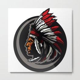 Native American 3 Metal Print