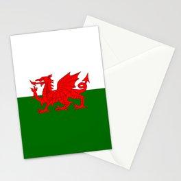 Welsh Dragon Flag Stationery Cards