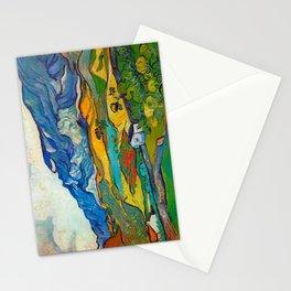 Les Alpilles, Mountain Landscape near South Reme Vincent van Gogh 1889 Stationery Cards