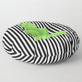 My  inner Green Buddha   Namaste Pop Art Buddha Floor Pillow