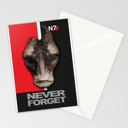 NEVER FORGET - Mordin Solus- Mass Effect Stationery Cards