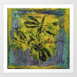 Dragonfly Dance #1 Art Print