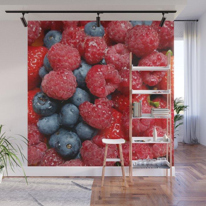 Berry Bonanza Wall Mural