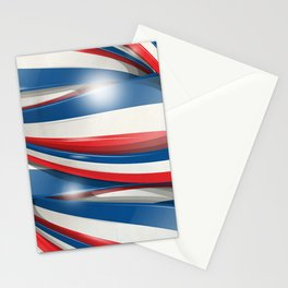 france flag background Stationery Cards