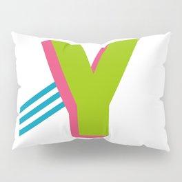 Letter Y Pillow Sham