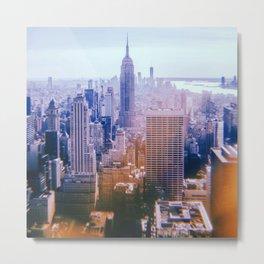 New York City // Retro 26 Metal Print