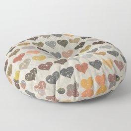 Hearts Floor Pillow
