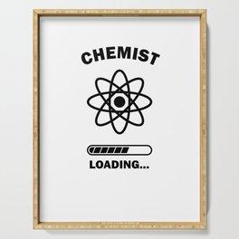 Future Chemist Chemistry Gift Idea Serving Tray