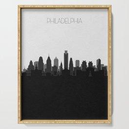 City Skylines: Philadelphia (Alternative) Serving Tray