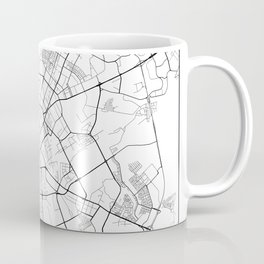 Minimal City Maps - Map Of Minsk, Belarus. Coffee Mug