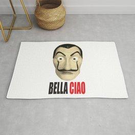 Dalí Mask La Casa de Papel Bella Ciao Rug