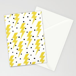 Light rays Stationery Cards