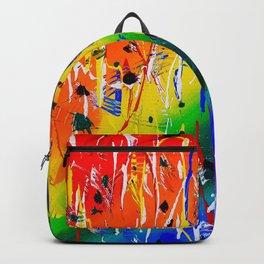 Rainbow Splatter Backpack