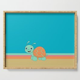 Meet Brysk the turtle Serving Tray