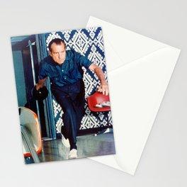 Richard Nixon Bowling Stationery Cards