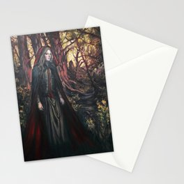 Red Ridding Hood by Kim Marshall Stationery Cards