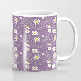 Joyful Folk Floral : Purple Coffee Mug