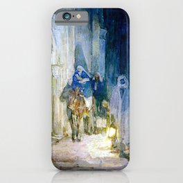 Henry Ossawa Tanner Flight into Egypt iPhone Case