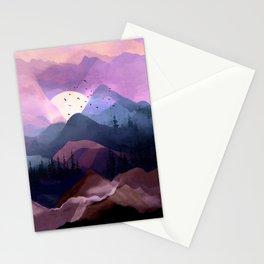 Misty Mountain Morning Stationery Cards