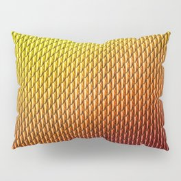Halloween Fire Dragon Scale Mail Armor Costume Pillow Sham
