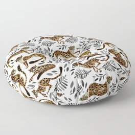 Cheetah Collection – Mocha & Black Palette Floor Pillow