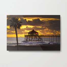 Surf City Sunset / Last Wave Of The Day  12/26/19 Metal Print